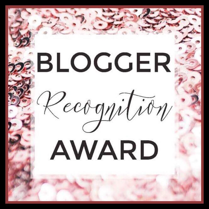 OMG! My Blogger Recognition Award Nomination