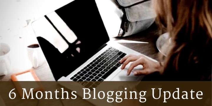 6 Months BloggingUpdate