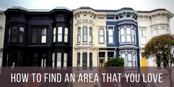 How To Find An Area That YouLove