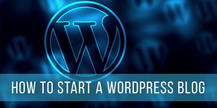 How To Start a WordPressBlog